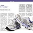 Xelero, Gesundheitsschuhe gegen Schmerzen, vorgestellt in «Chiropraktik & Gesundheit»