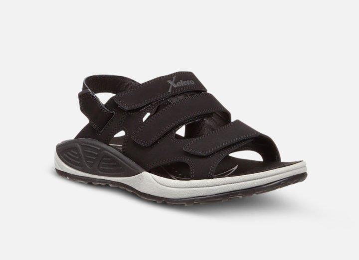 Xelero Bali Black Gesundheitsschuh Sandale Damen