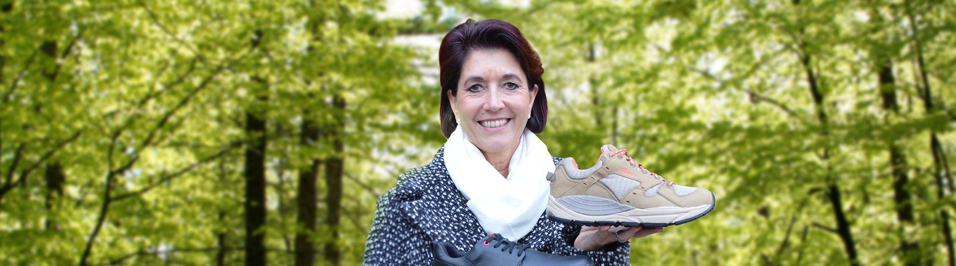 Der gesunde, sportliche Schuh mit Klettverschluss - Xelero