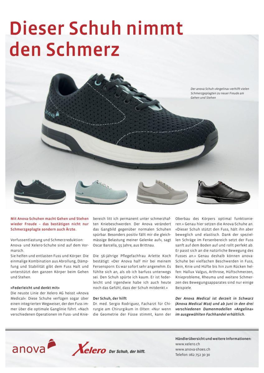 Schweizer Hausapotheke über gesunde Damen Schuhe von Anova
