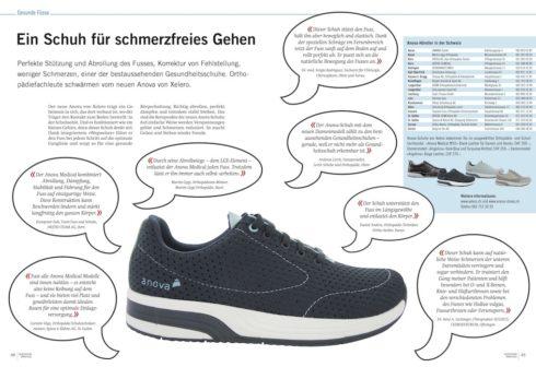 Sprechstunde Doktor Stutz über gesunde Damen Schuhe Anova Angelina