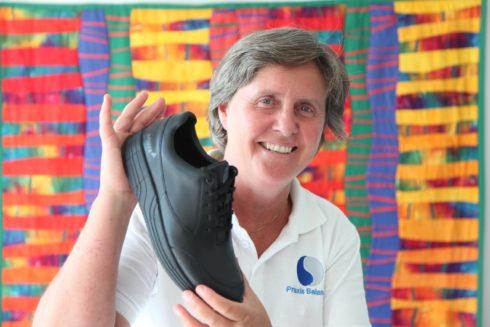 Dr. med. Judith Fellmann von der Praxis Balance mit dem Anova All Black